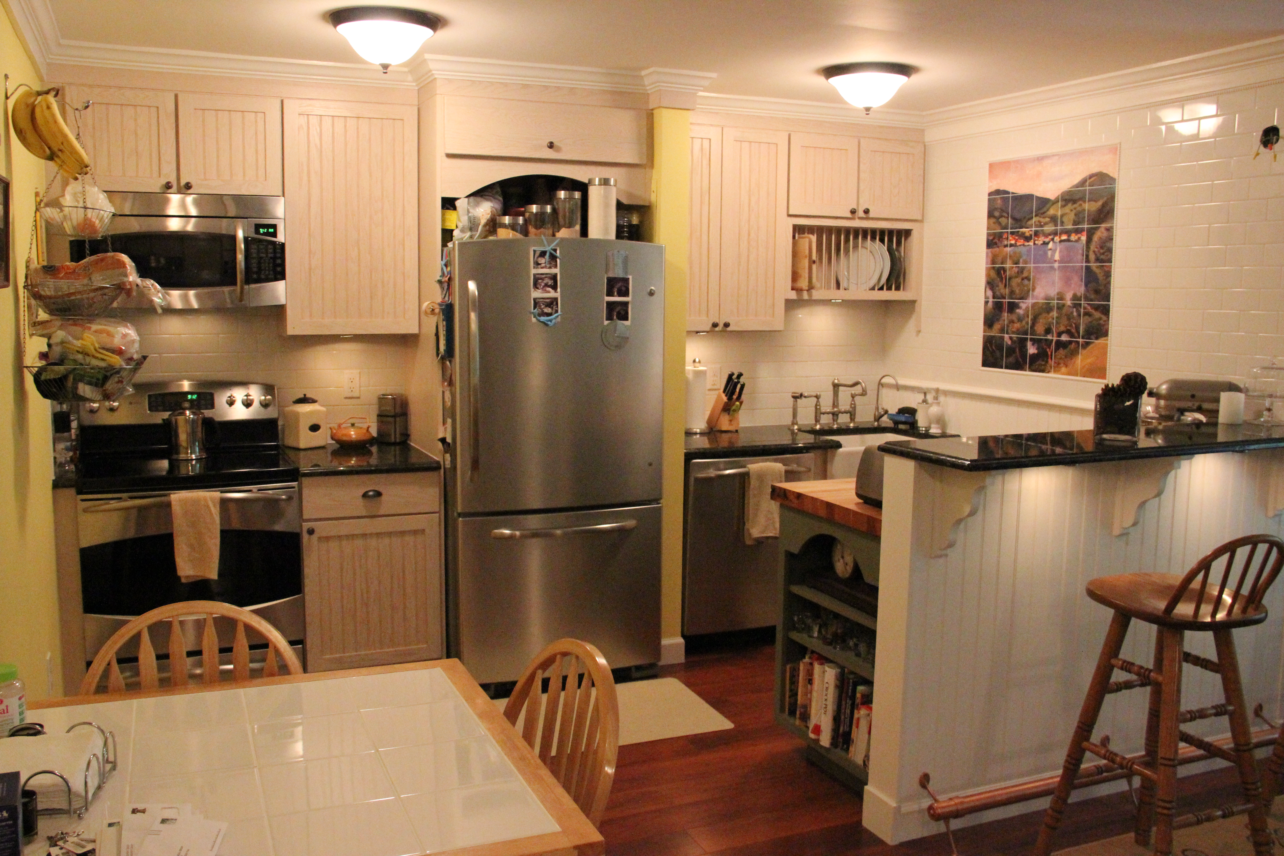 Kitchen remodeling project in Hastings, New York