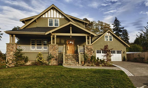 Basic home style ideas for your future house bruzzese Brick craftsman house