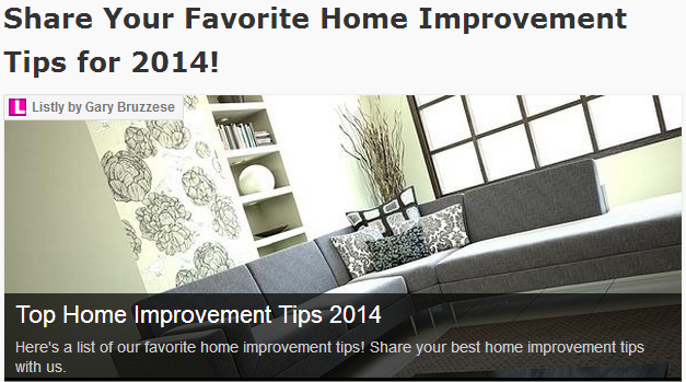 Top home improvement tips 2014 bruzzese home improvements for A to z home improvements