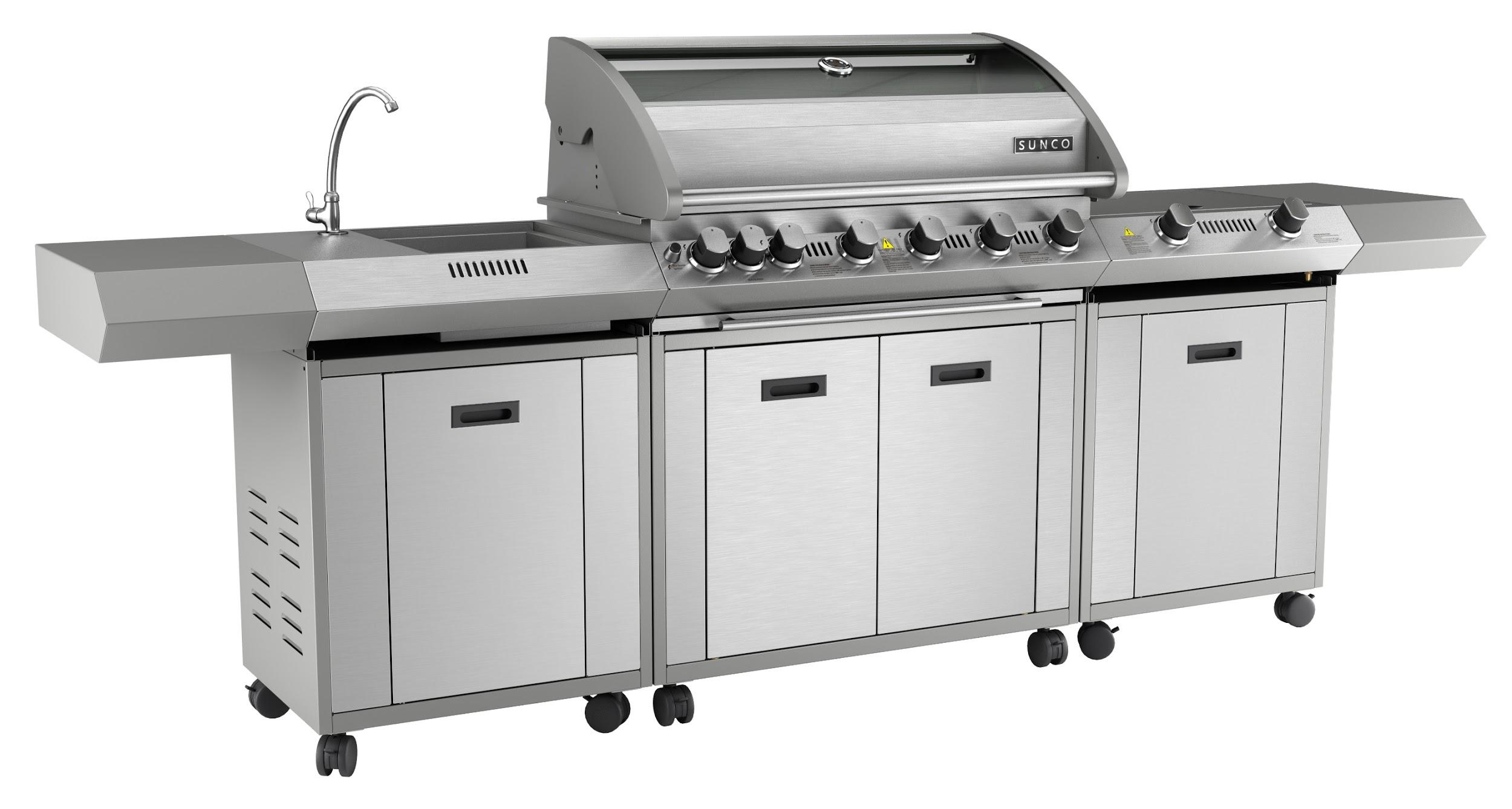 Grilling in the great outdoors essential ideas for your for Outdoor kitchen bbq grill