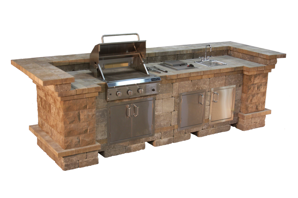 Grilling in the great outdoors essential ideas for your for Plans for outside kitchen