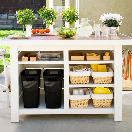 outdoor kitchen storage solutions grilling in the great outdoors essential ideas for your 3874