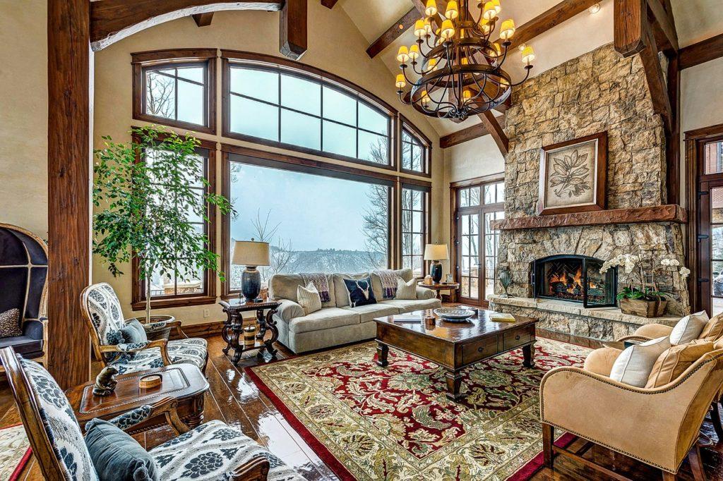 Living Room Interior Decorating Plan